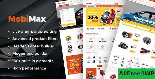 Download Mobimax v2.4 - Auto Parts WordPress Theme + WooCommerce Shop