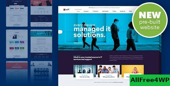 Download Nanosoft v1.1.11 - WP Theme for IT Solutions and Services Company