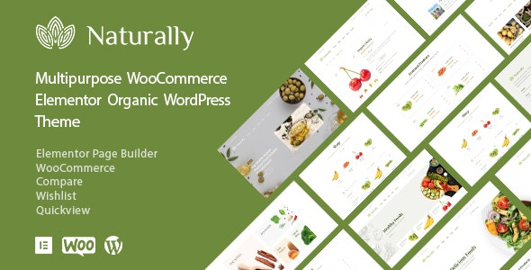Download Naturally v1.0.2 - Organic Food & Market WooCommerce Theme