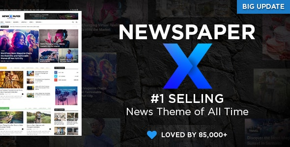 Download Newspaper v10.3.2 - WordPress News Theme