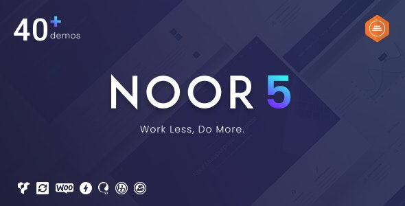 Download Noor v5.3.5 - Fully Customizable Creative AMP Theme