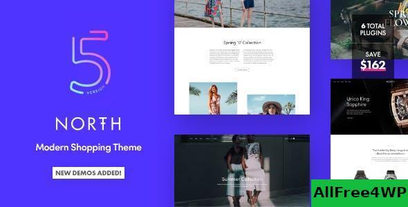 Download North v5.2.2 - Responsive WooCommerce WordPress Theme