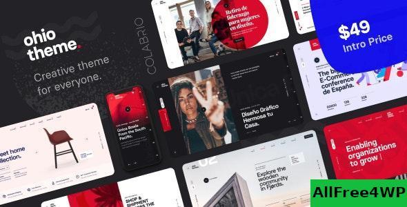 Download Ohio v1.0.8 - Creative Portfolio & Agency WordPress Theme