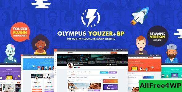 Download Olympus v2.9.1 - Powerful BuddyPress Theme for Social Networking