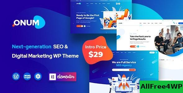 Download Onum v1.1.3 - SEO & Marketing Elementor WordPress Theme