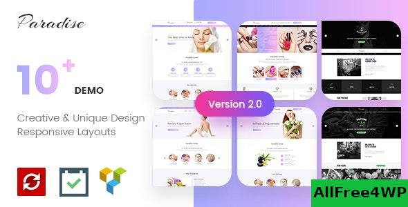 Download Paradise v2.0.5 - Multipurpose Spa & Beauty WordPress Theme
