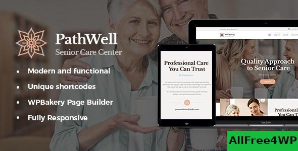 Download PathWell v1.1.5 - A Senior Care Hospital WordPress Theme