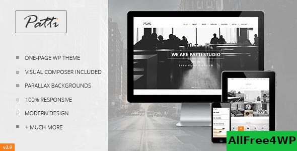 Download Patti v2.9.13 - Parallax One Page WordPress Theme