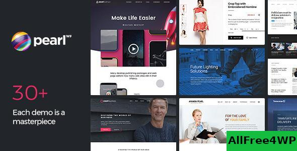 Download Pearl WP v3.1.5 - Corporate Business WordPress Theme