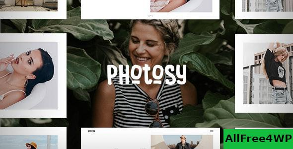 Download Photosy v1.6 - Photography WordPress Theme