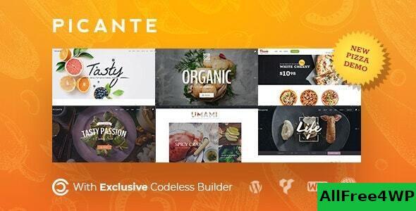 Download Picante v2.1.1 - Restaurant WordPress