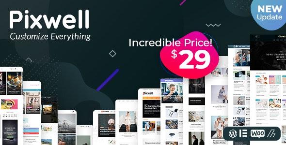 Download Pixwell v3.1 - Modern Magazine