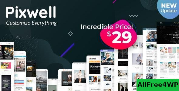 Download Pixwell v4.0 - Modern Magazine
