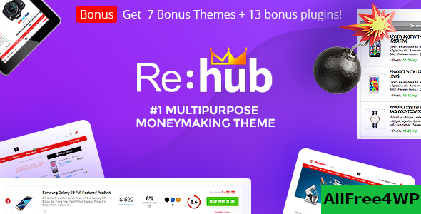 Download REHub v9.9.9.3 - Price Comparison, Business Community
