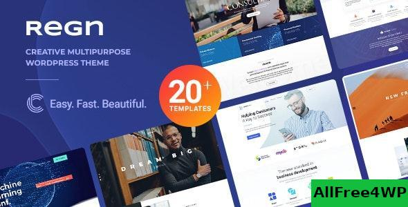 Download Regn v1.0.3 - Modern Multi-Purpose WordPress Theme