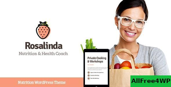 Download Rosalinda v1.0.4 - Health Coach & Vegetarian Lifestyle Blog WordPress Theme