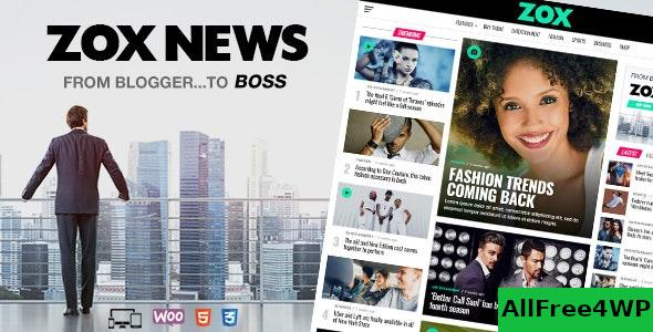 Zox News v3.7.0 - Professional WordPress News