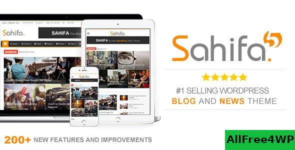 Download Sahifa v5.7.1 - Responsive WordPress News, Magazine