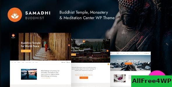 Download Samadhi v1.0.2 - Oriental Buddhist Temple WordPress Theme