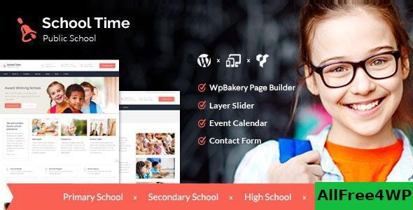 Download School Time v2.5.0 - Modern Education WordPress Theme