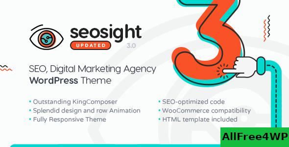 Download Seosight v4.0 - SEO Digital Marketing Agency Theme