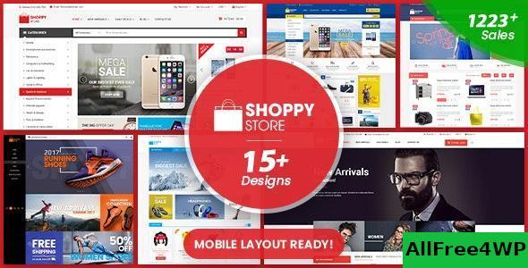 Download ShoppyStore v3.4.2 - WooCommerce WordPress Theme