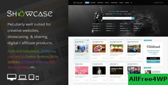 Download Showcase v3.0 - Responsive WordPress Grid Masonry Blog Theme