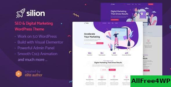 Download Silion v1.0 - Digital Marketing WordPress Theme