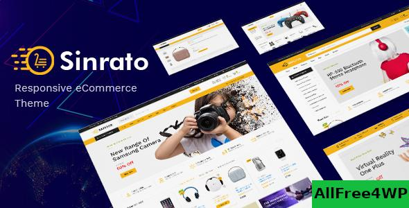 Download Sinrato v1.0.3 - Electronics Theme for WooCommerce
