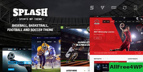 Download Splash v4.1 - Sport WordPress Theme