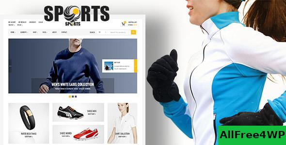 Download Sport Shop v2.6 - Sporting Club RTL WooCommerce Theme