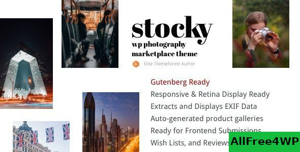 Download Stocky v1.6.2 - A Stock Photography Marketplace Theme
