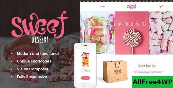 Download Sweet Dessert v1.1.3 - Sweet Shop & Cafe WordPress Theme