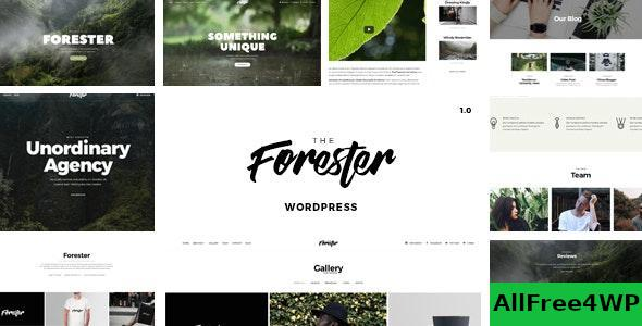 Download The Forester v1.3.6 - WordPress Minimalist Portfolio Theme