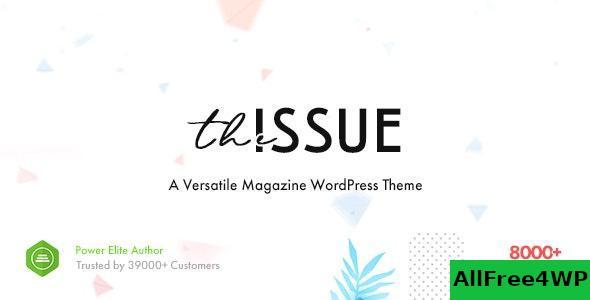 Download The Issue v1.3.2.1 - Versatile Magazine WordPress Theme