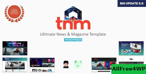 Download The Next Mag v5.7 - Ultimate Magazine WordPress Theme