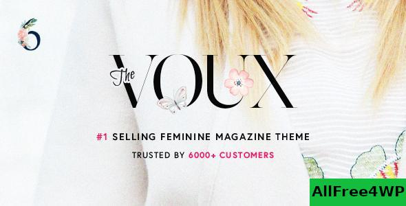Download The Voux v6.5.2.3 - A Comprehensive Magazine Theme