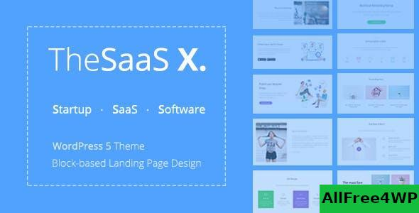 Download TheSaaS X v1.1.5 - Responsive SaaS, Startup & Business
