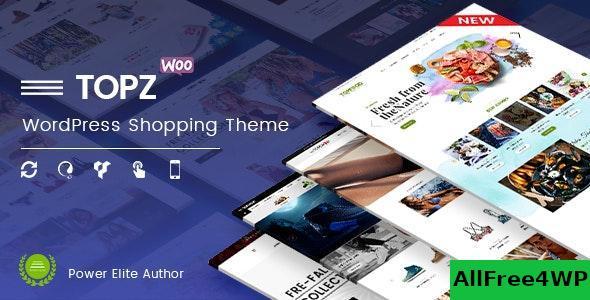 Download TopZ v1.4.11 - Top Food Store & Sport Fashion Shop WordPress WooCommerce Theme