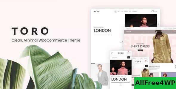 Download Toro v1.0.9 - Clean, Minimal WooCommerce Theme