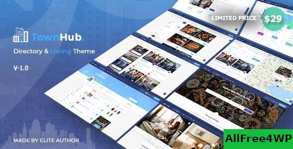 Download TownHub v1.2.1 - Directory & Listing WordPress Theme