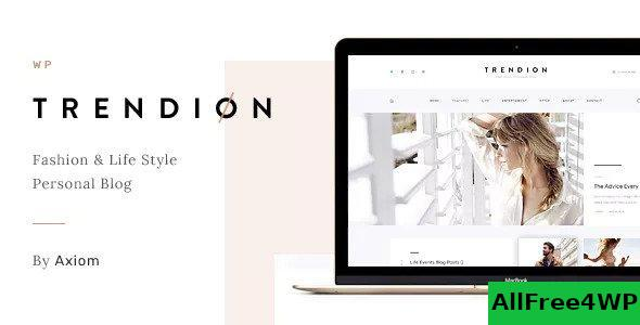 Download Trendion v1.1.7 - A Personal Lifestyle Blog and Magazine