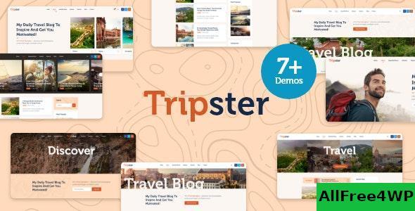 Download Tripster v1.0 - Travel & Lifestyle WordPress Blog