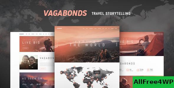 Download Vagabonds v1.1.3 - Personal Travel & Lifestyle Blog Theme