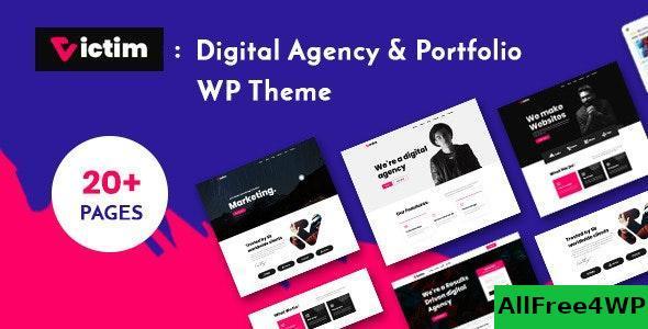 Download Victim v1.0.0 - Digital Agency & Portfolio WordPress Theme