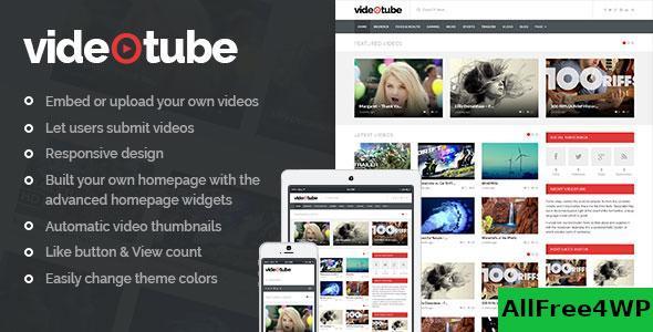 Download VideoTube v3.2.7 - A Responsive Video WordPress Theme