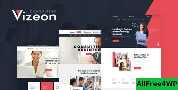 Download Vizeon v1.0.1 - Business Consulting WordPress Themes