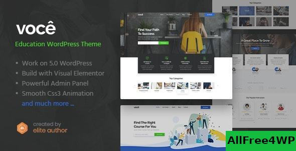 Download Vocee v1.0 - Education & LMS WordPress Theme