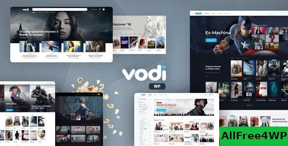 Download Vodi v1.1.12 - Video WordPress Theme for Movies & TV Shows