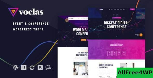 Download Voelas v1.0.6 - Event & Conference WordPress Theme